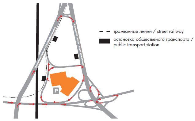 шоссе (схема проезда)