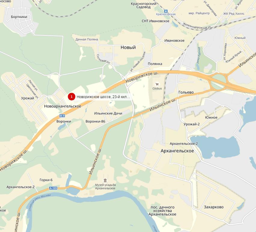 Рига молл на новорижском шоссе от метро строгино