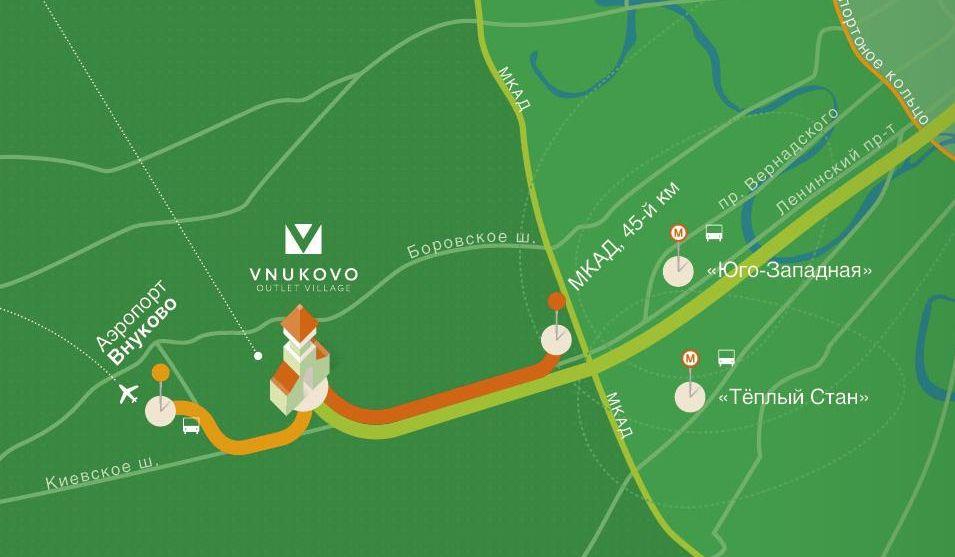 Vnukovo outlet village – новый формат шопинга. , гид по аутлетам.