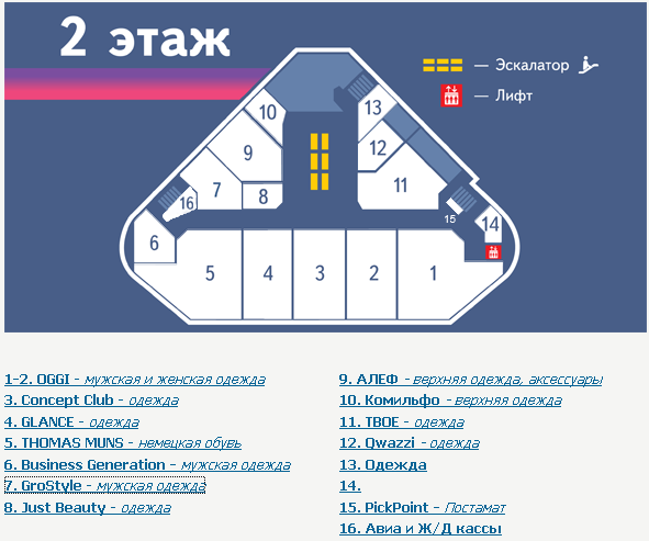 ТЦ Радужный, Бабушкинская