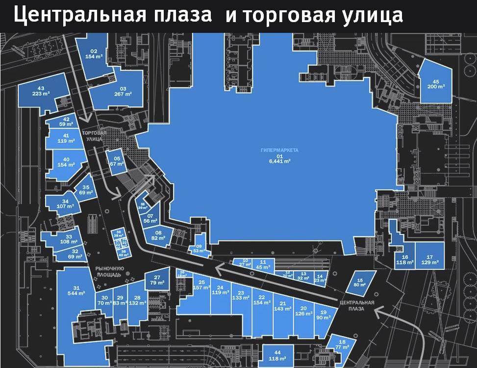 Планы этажей, 1 этаж,