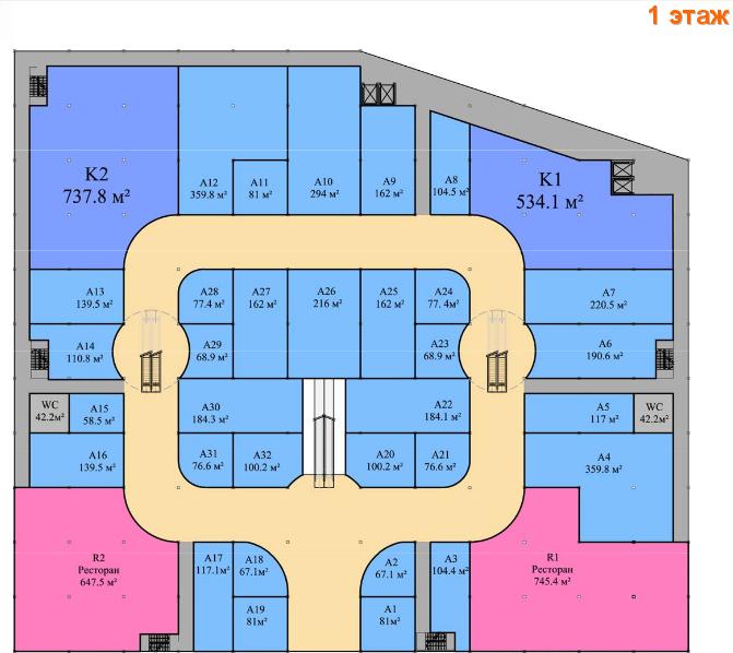 Планы этажей, 0 этаж,